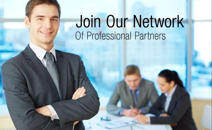 Join our network of professional partners